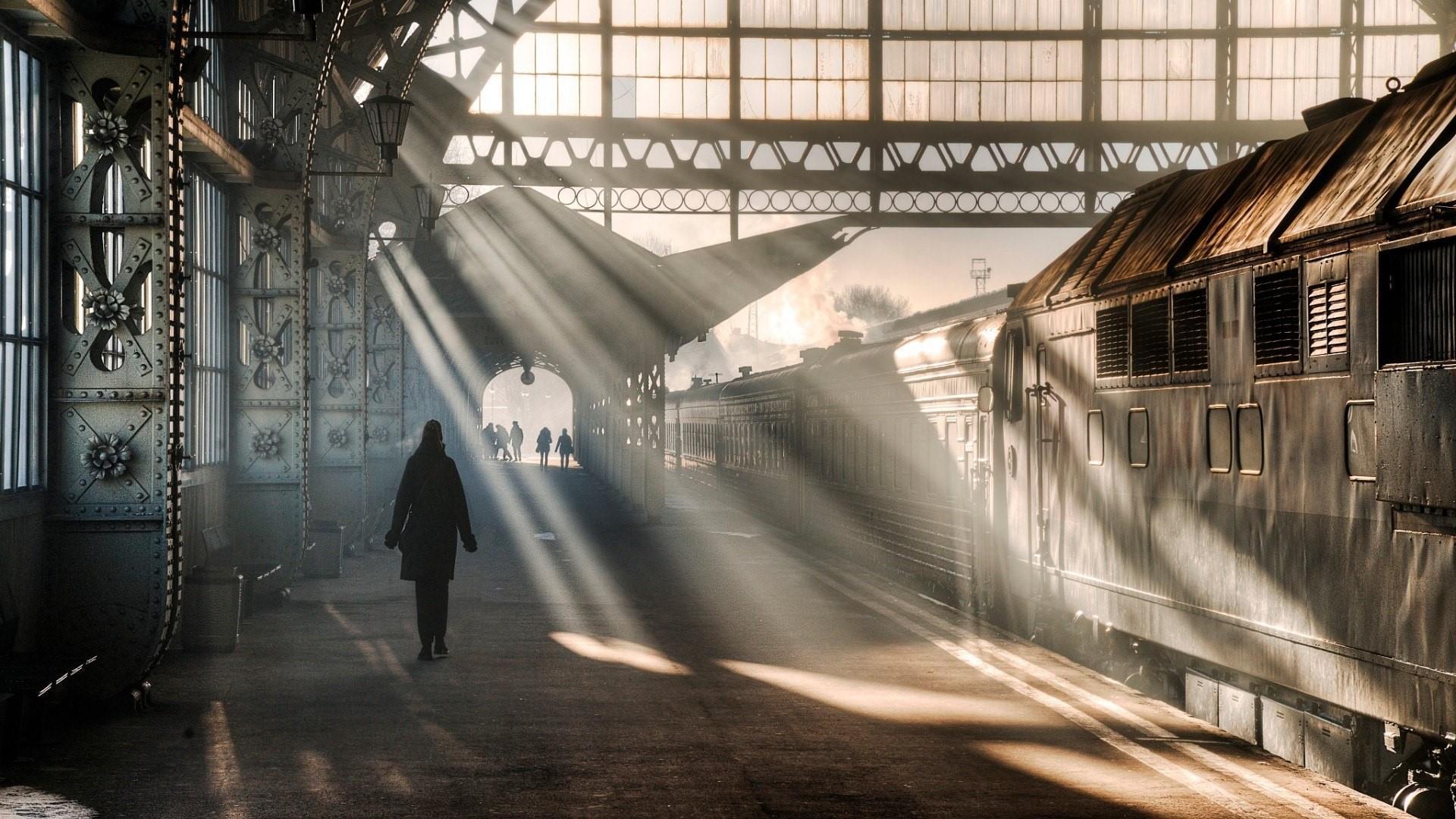 Railway Platform Wallpapers Wallpaper Cave
