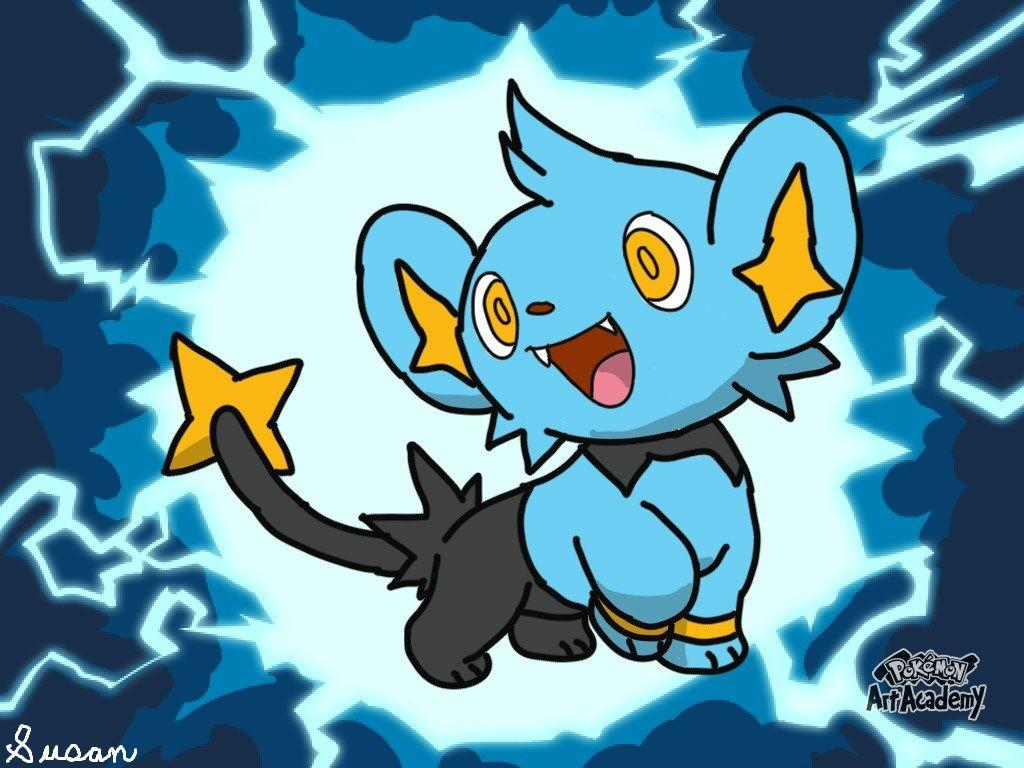 Pokemon Art Academy- Shinx by SusanLucarioFan16 on DeviantArt