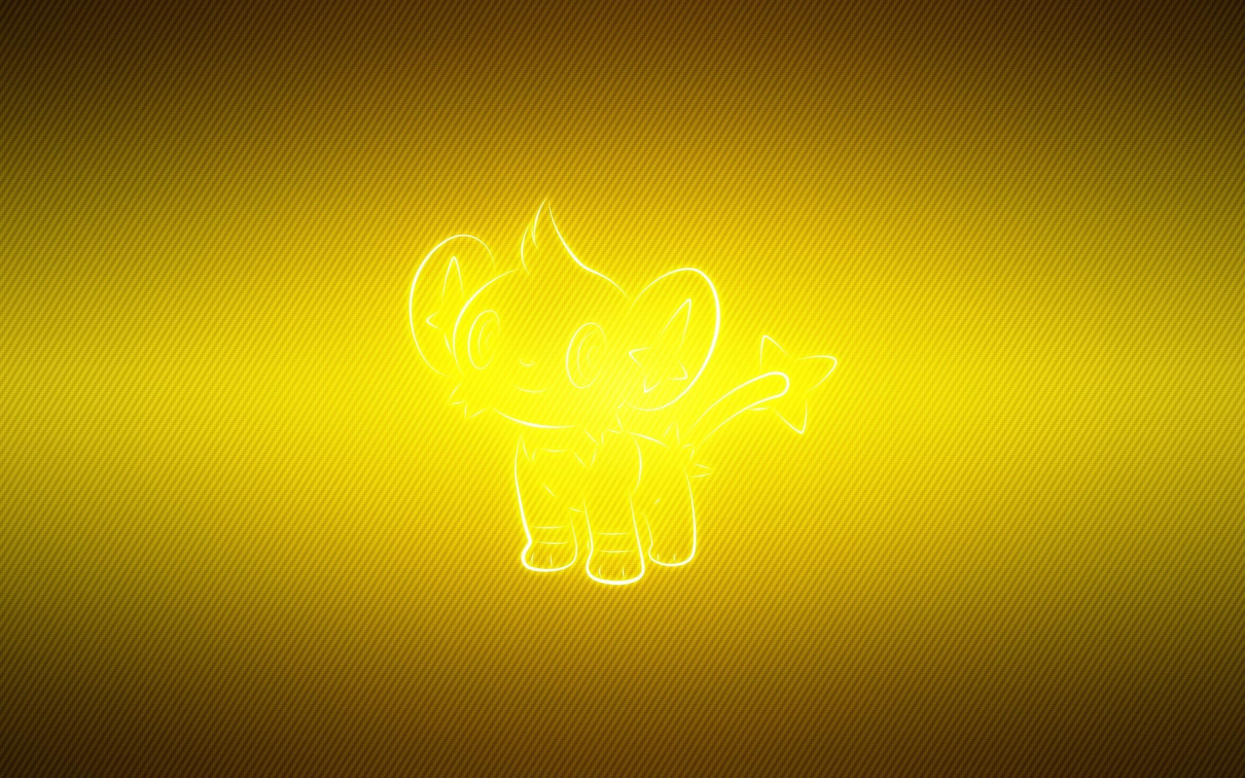 wallpaper shinx, pokemon, yellow HD : Widescreen : High Definition ...