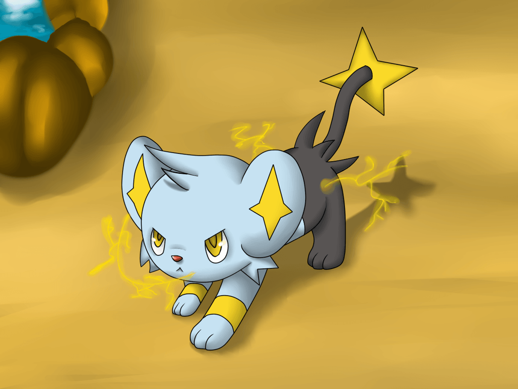 Shinx by Fire-For-Battle on DeviantArt