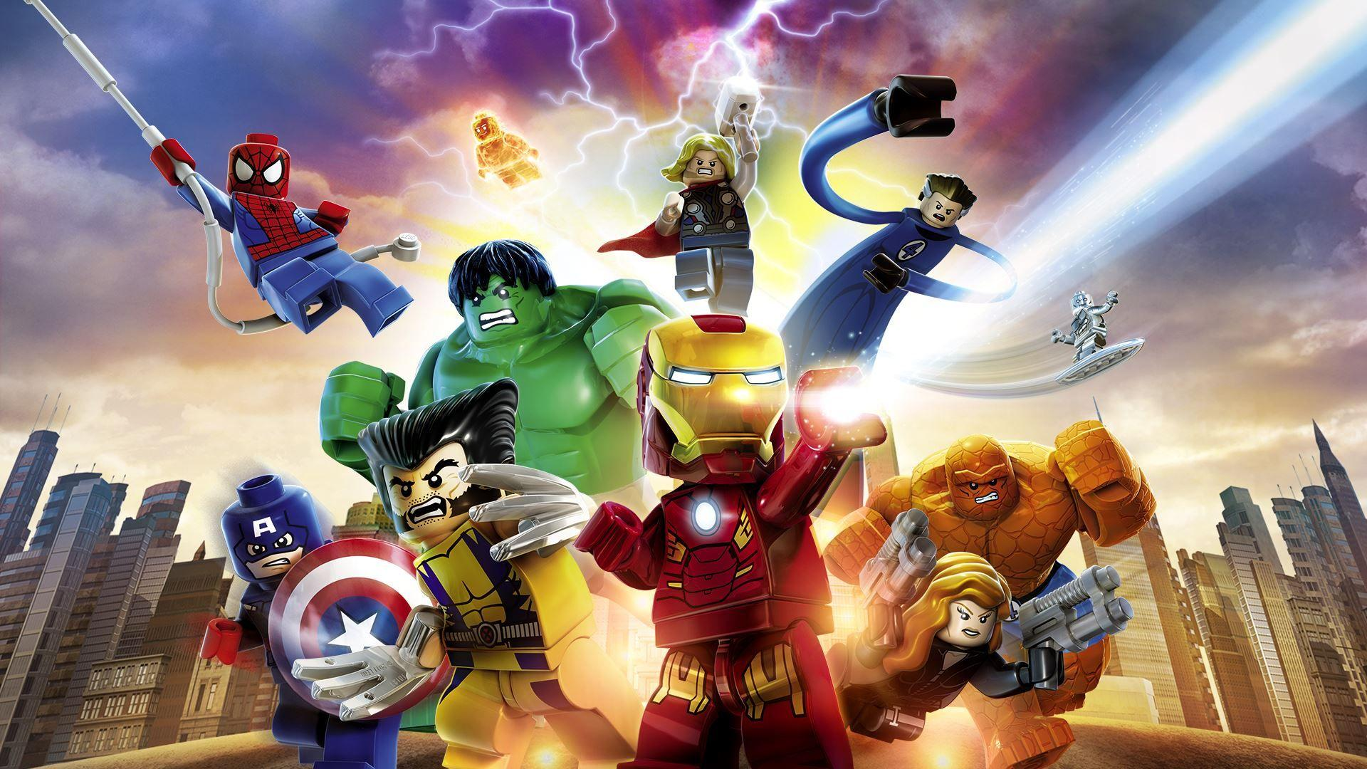 Lego Marvel Superheroes Hd Wallpapers Wallpaper Cave