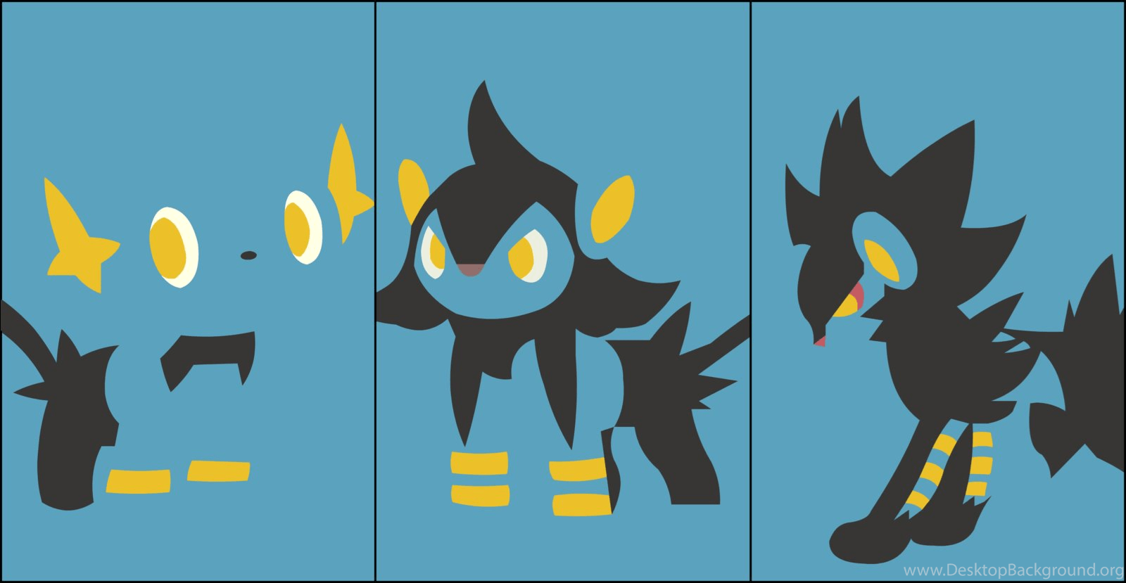 Part 528 Luxray Wallpapers By Mute Owl On Deviantart Desktop Background