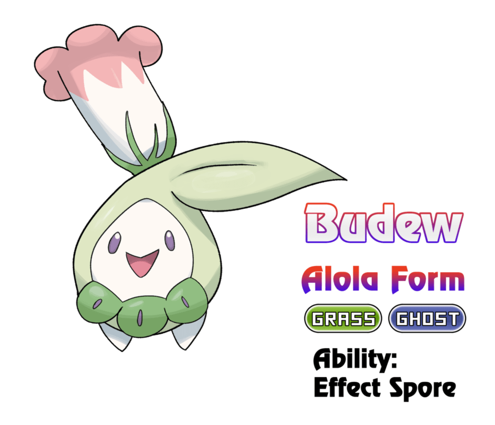 Budew - Alola Form by locomotive111 on DeviantArt