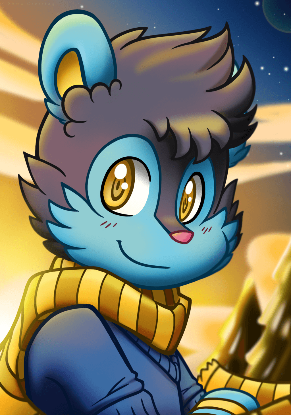 Bennet The Luxio by BuizelCream on DeviantArt