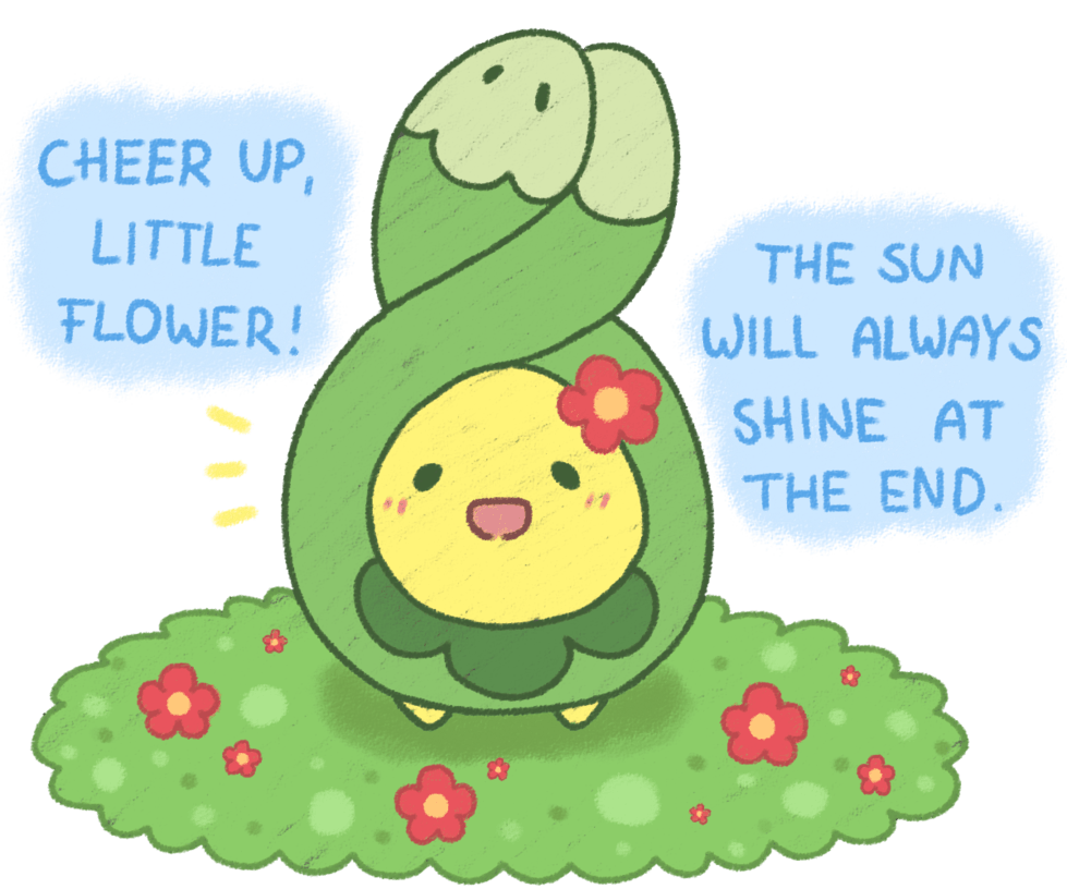 A little positive Budew by Hime--Nyan on DeviantArt