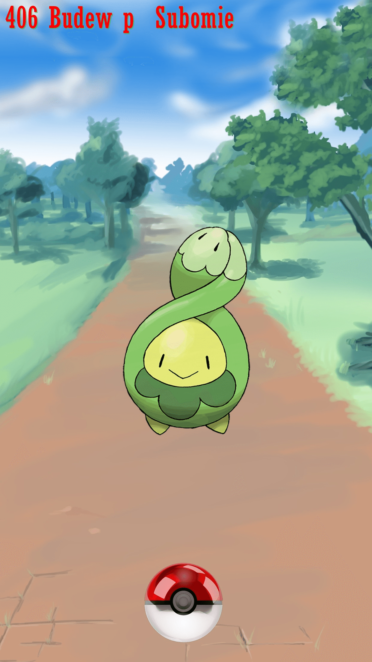 406 Street Pokeball Budew p Subomie | Wallpaper