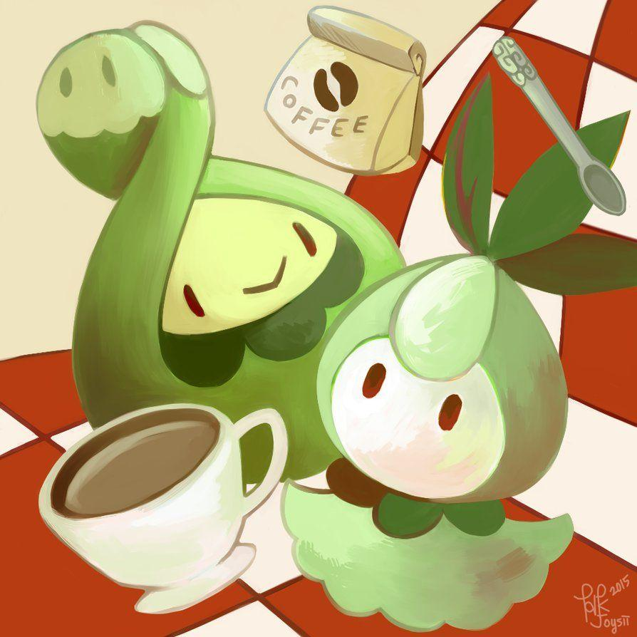 Budew and Petilil by Joysii on DeviantArt