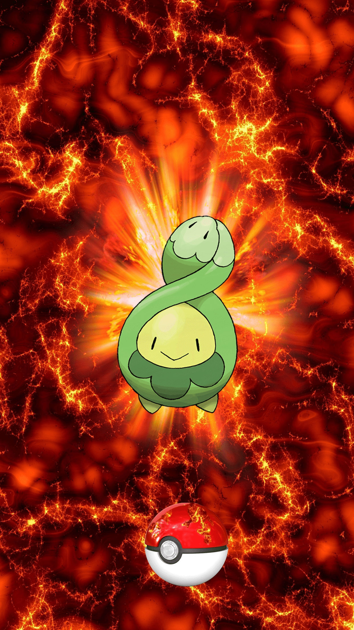 406 Fire Pokeball Budew p Subomie 44 Egg from Roselia or Roserade ...
