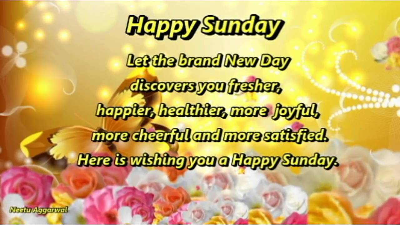 Happy Sunday HD Wallpapers