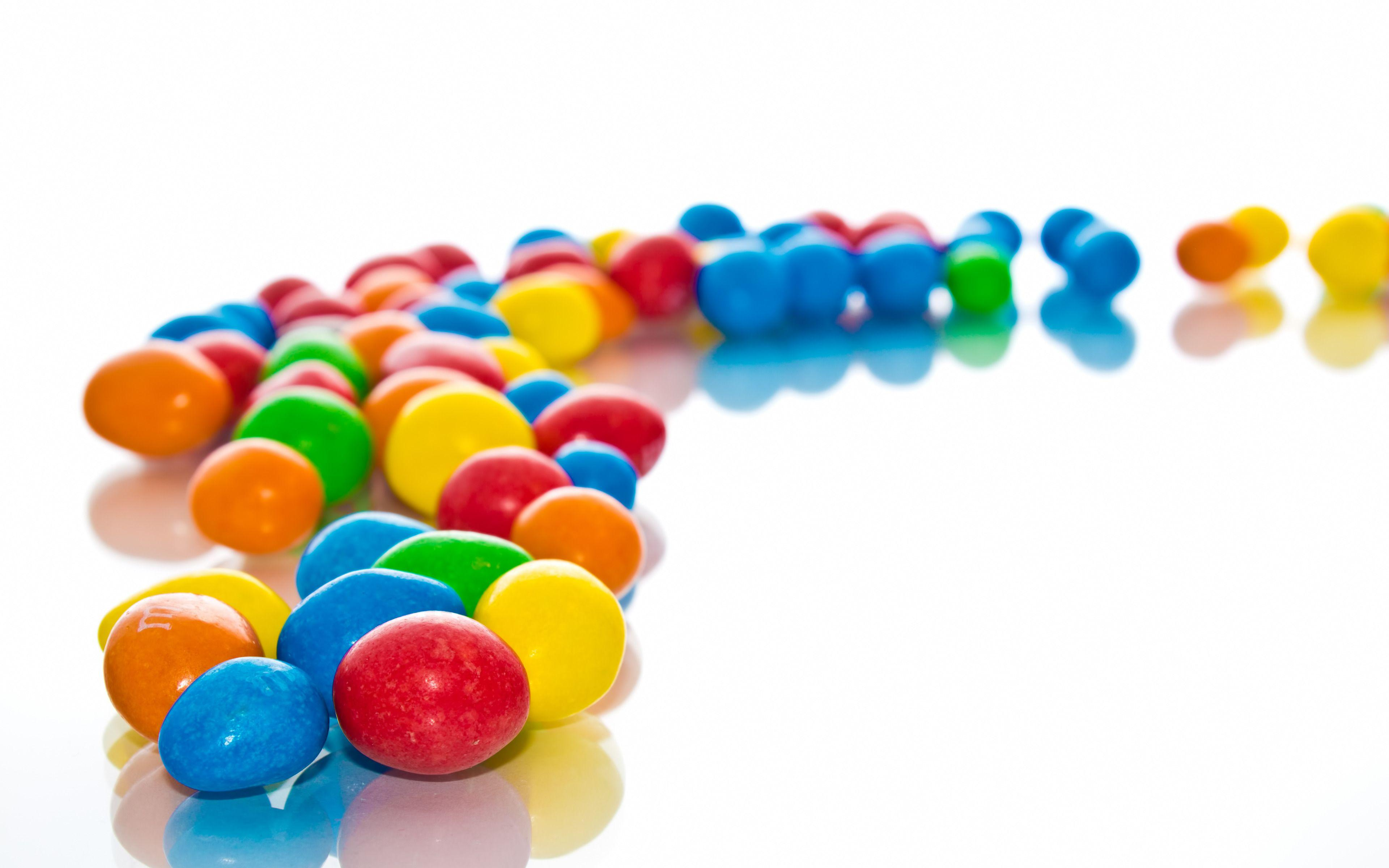 Colorful Candies, m&m widescreen wallpaper | Wide-Wallpapers.NET