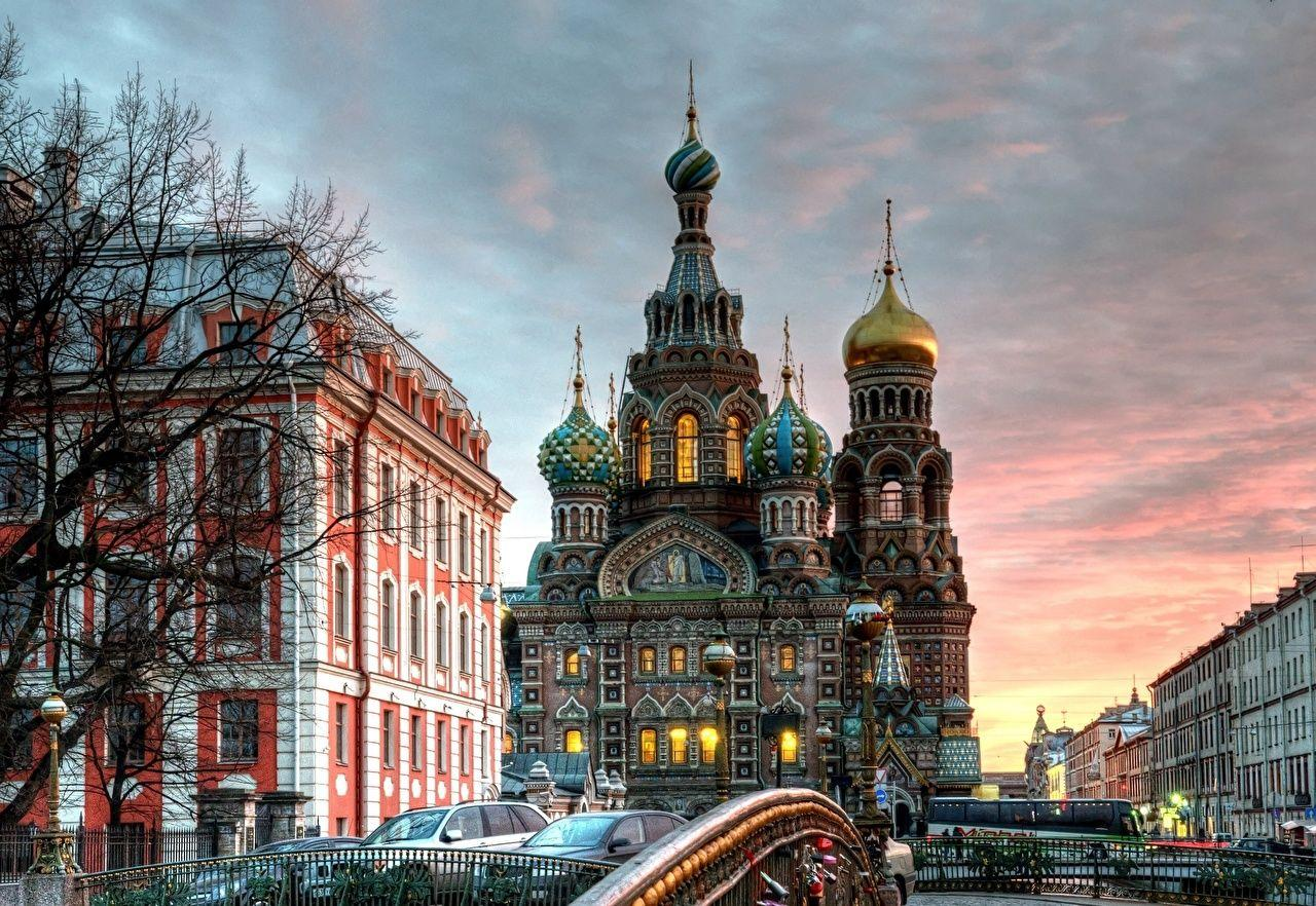 Wallpapers St. Petersburg Russia Church of the Savior on Blood