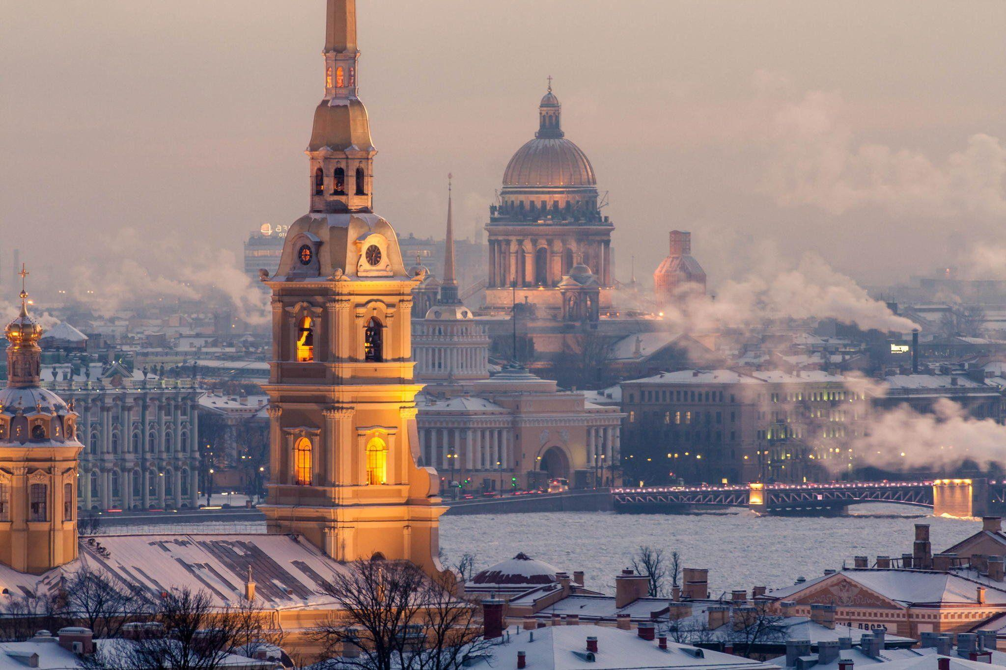 Russia peter st petersburg St Petersburg winter wallpaper ...
