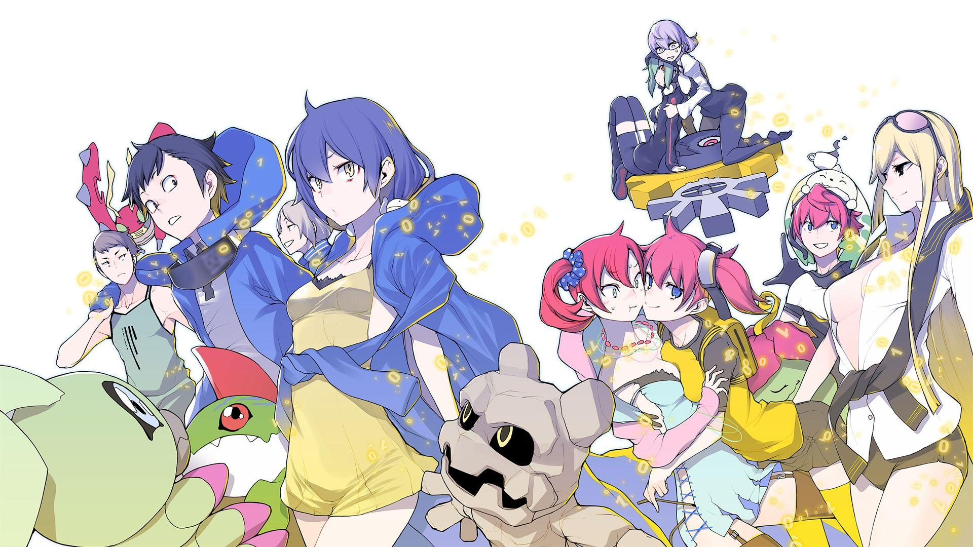 Digimon Story Cyber Sleuth Hacker S Memory Wallpapers Wallpaper