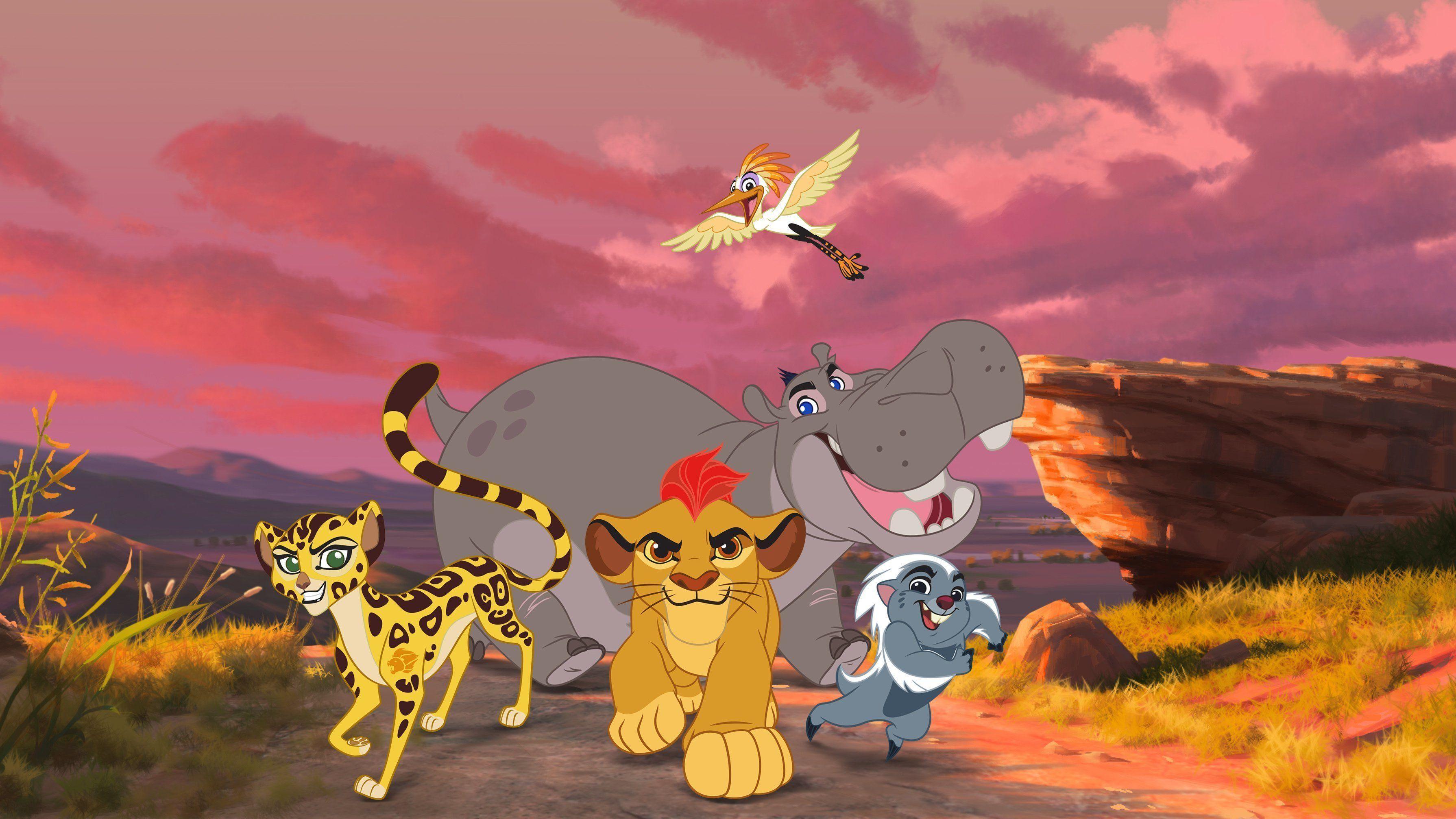 The Lion Gaurd Zoom Background 2