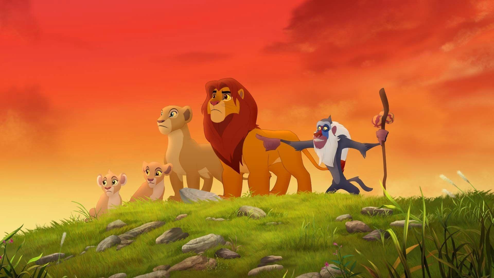 The Lion Gaurd Zoom Background 4