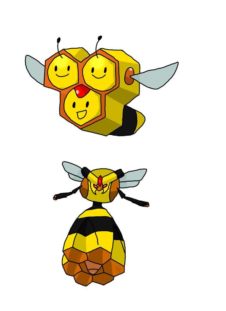 Combee and Vespiquen by Hello