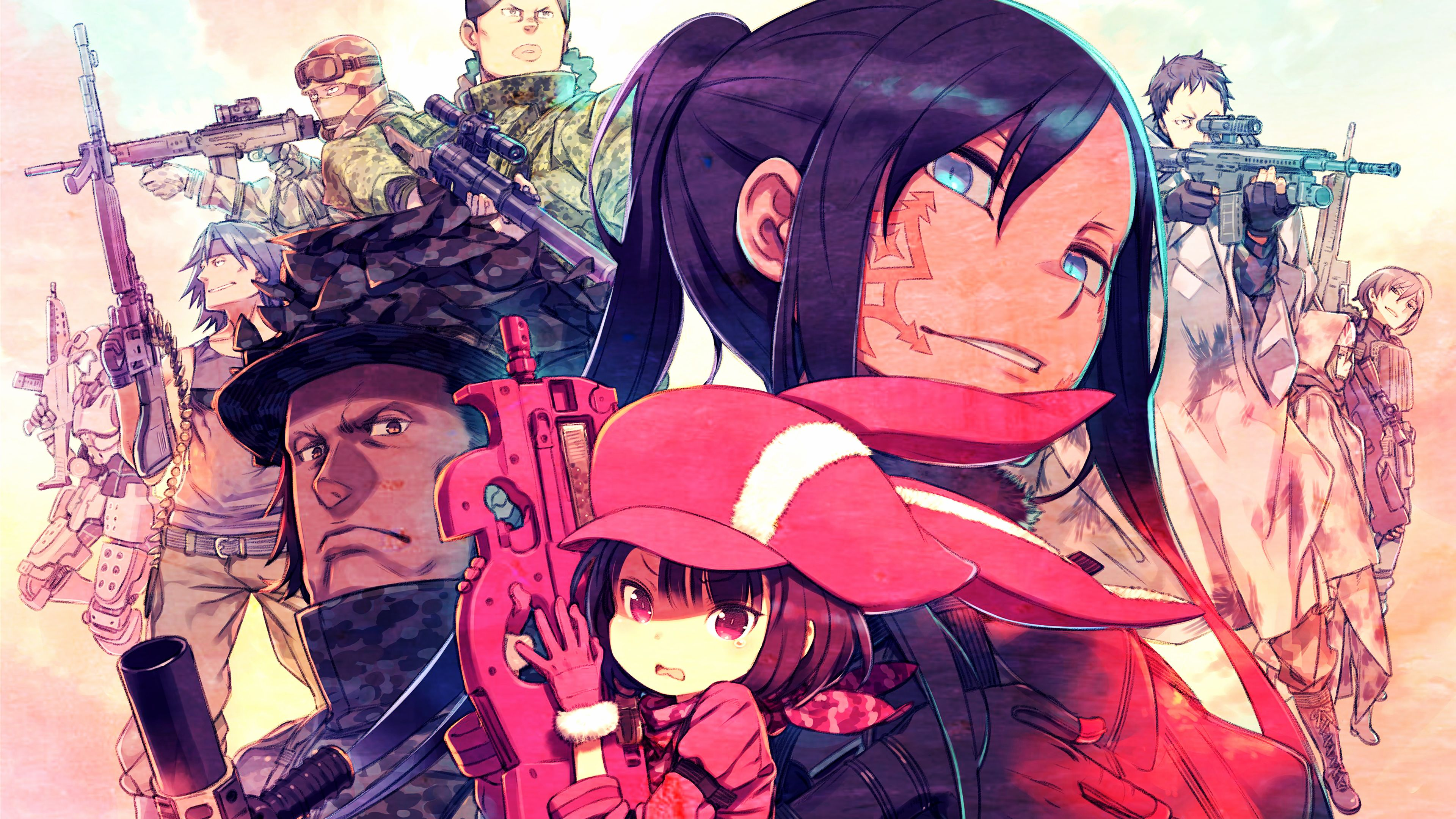 SAO Alternative Gun Gale Online wallpapers 38