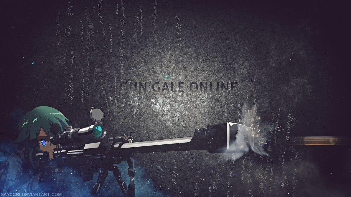 SAO] Gun Gale Online Wallpapers 1920x1080 [HD] by Say0chi