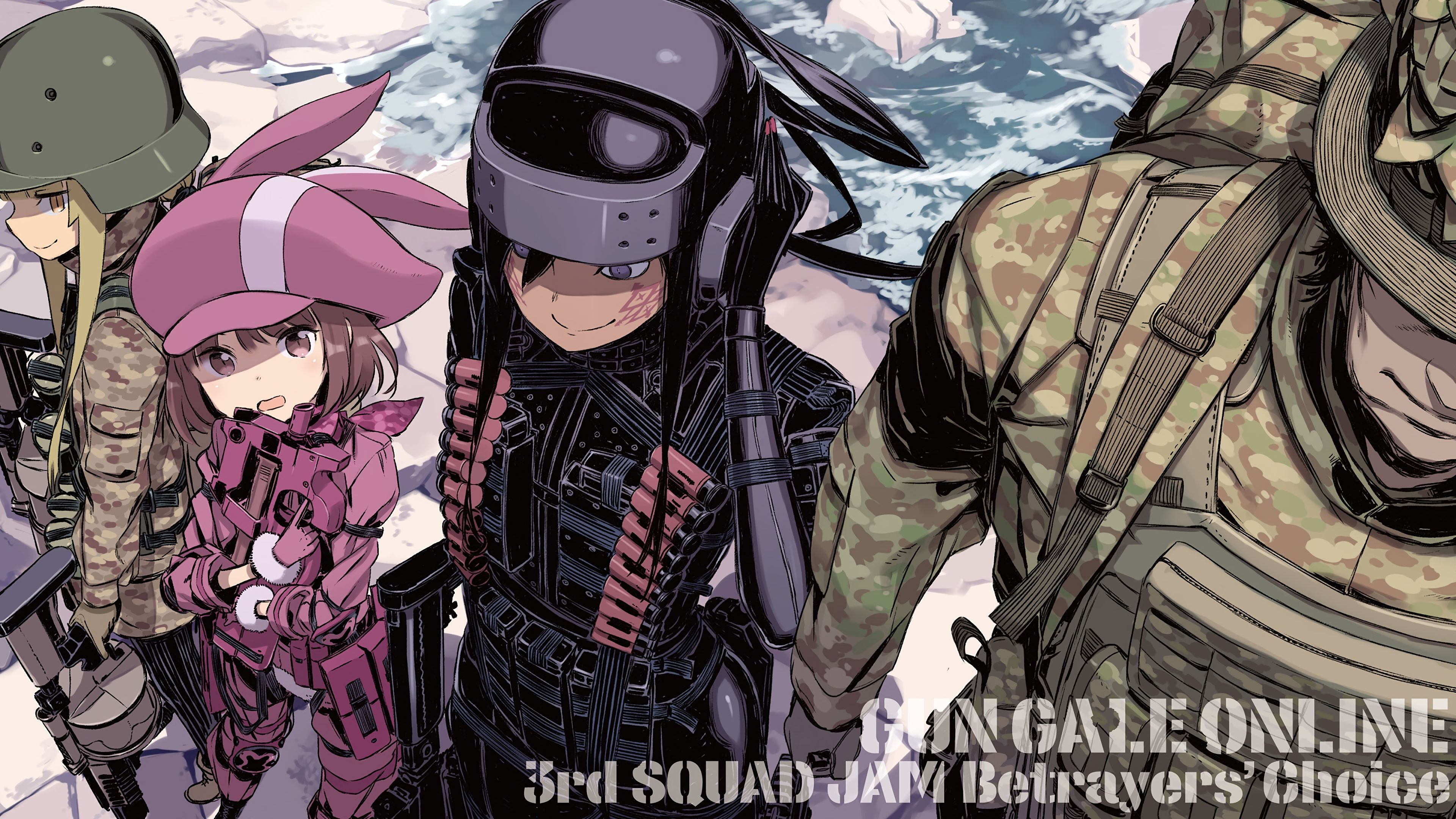 SAO Alternative Gun Gale Online wallpapers 32