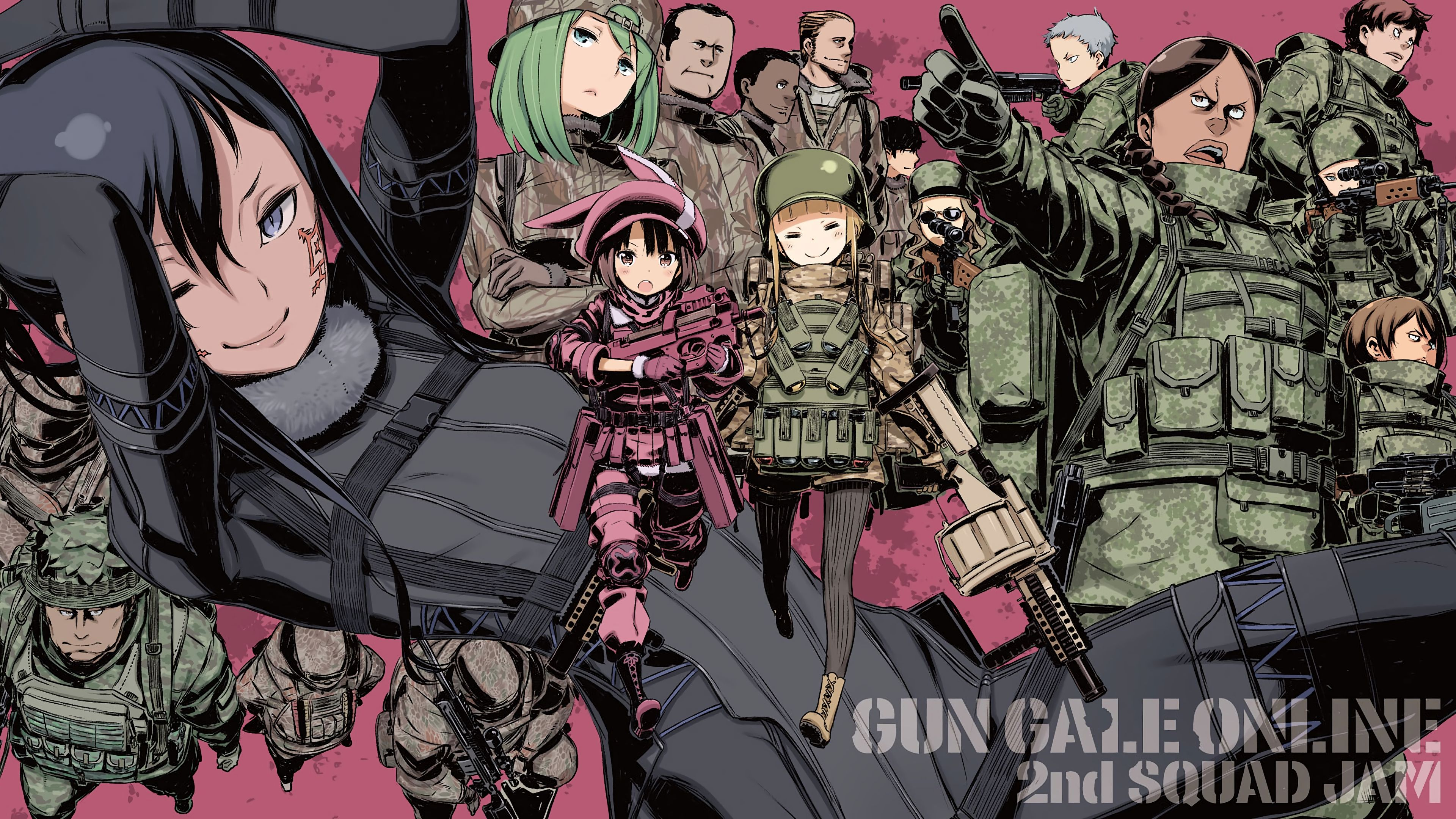 SAO Alternative Gun Gale Online wallpapers 24