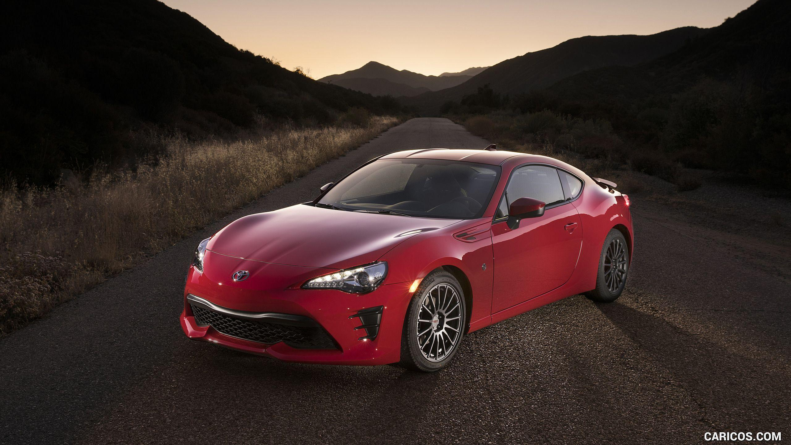 2017 Toyota 86 Red with TRD Accessories