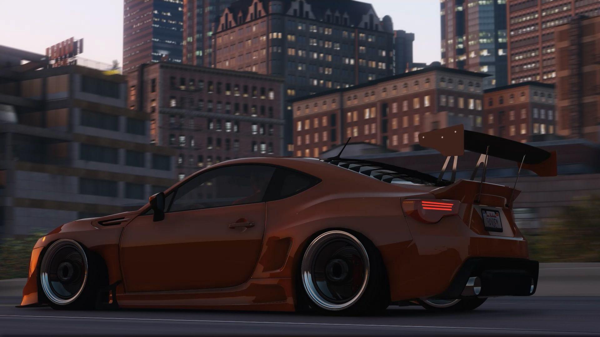 Subaru BRZ Rocket Bunny V3 [Add