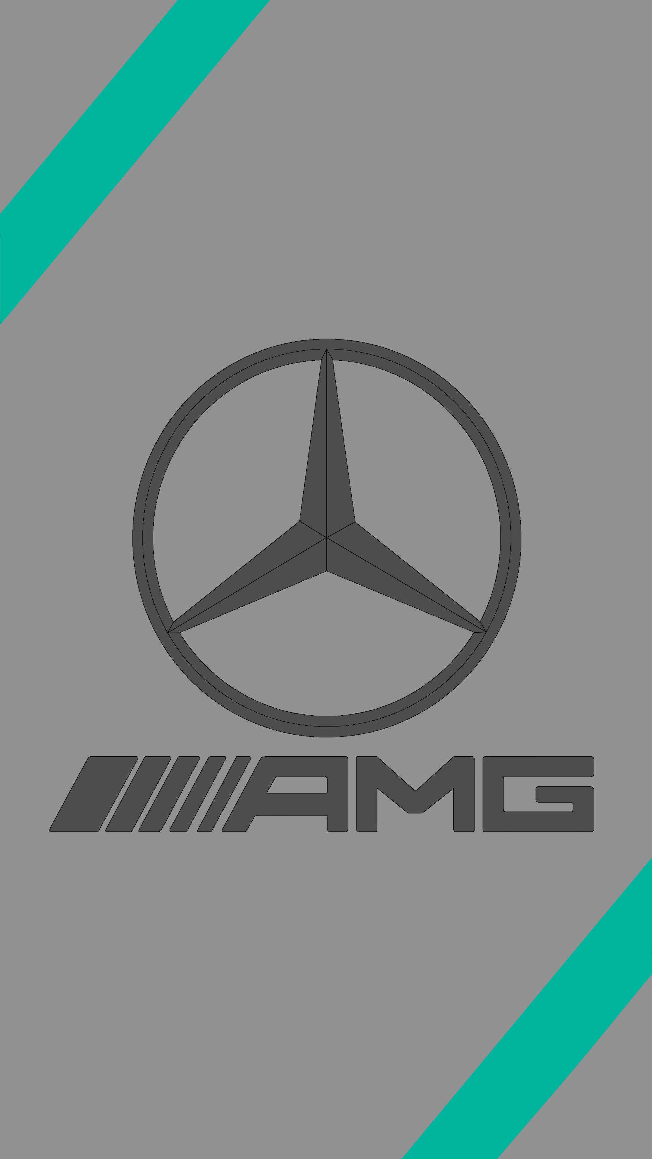 Mercedes Amg Logo Wallpapers Wallpaper Cave