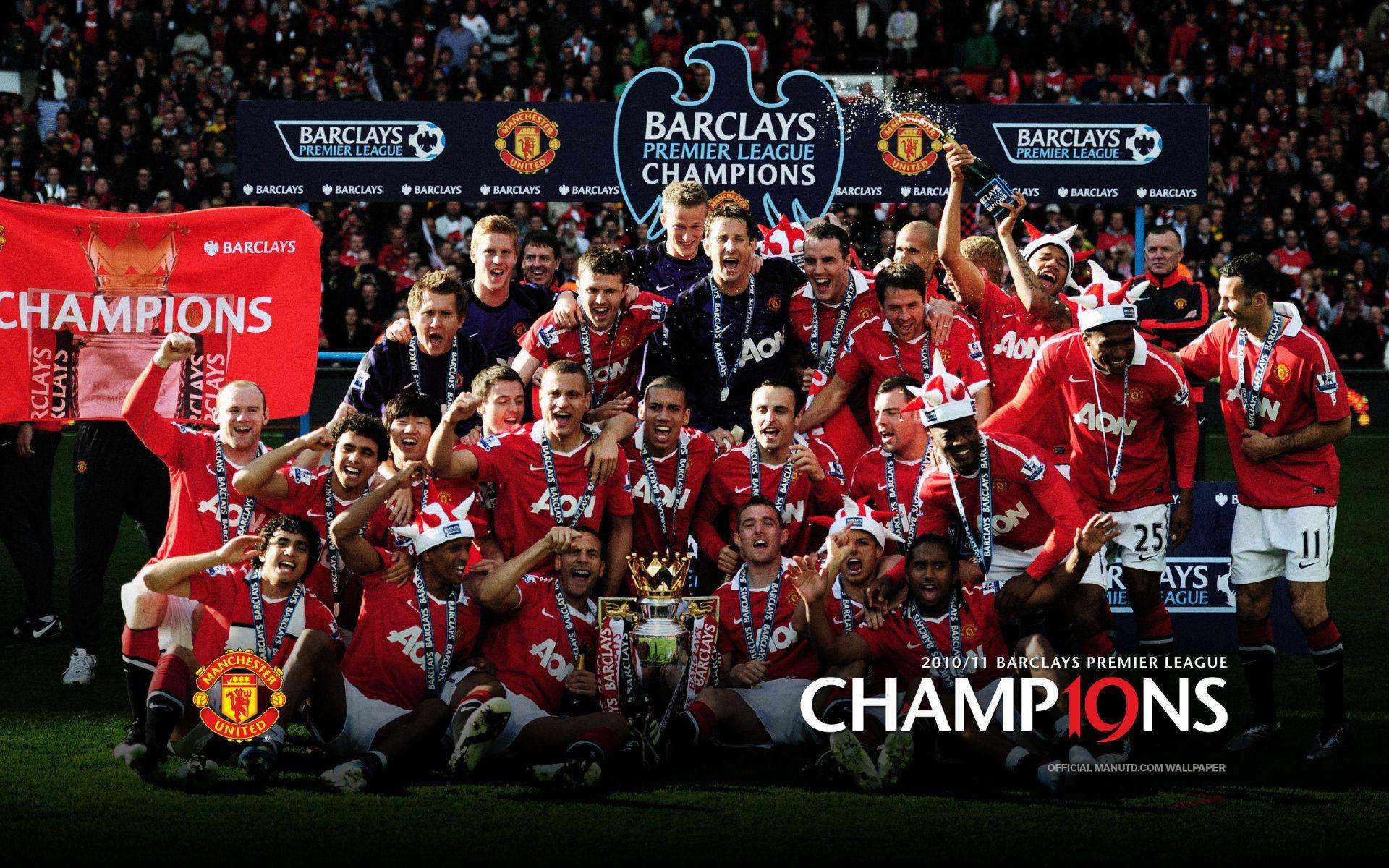 Manchester United Team Wallpapers Wallpaper