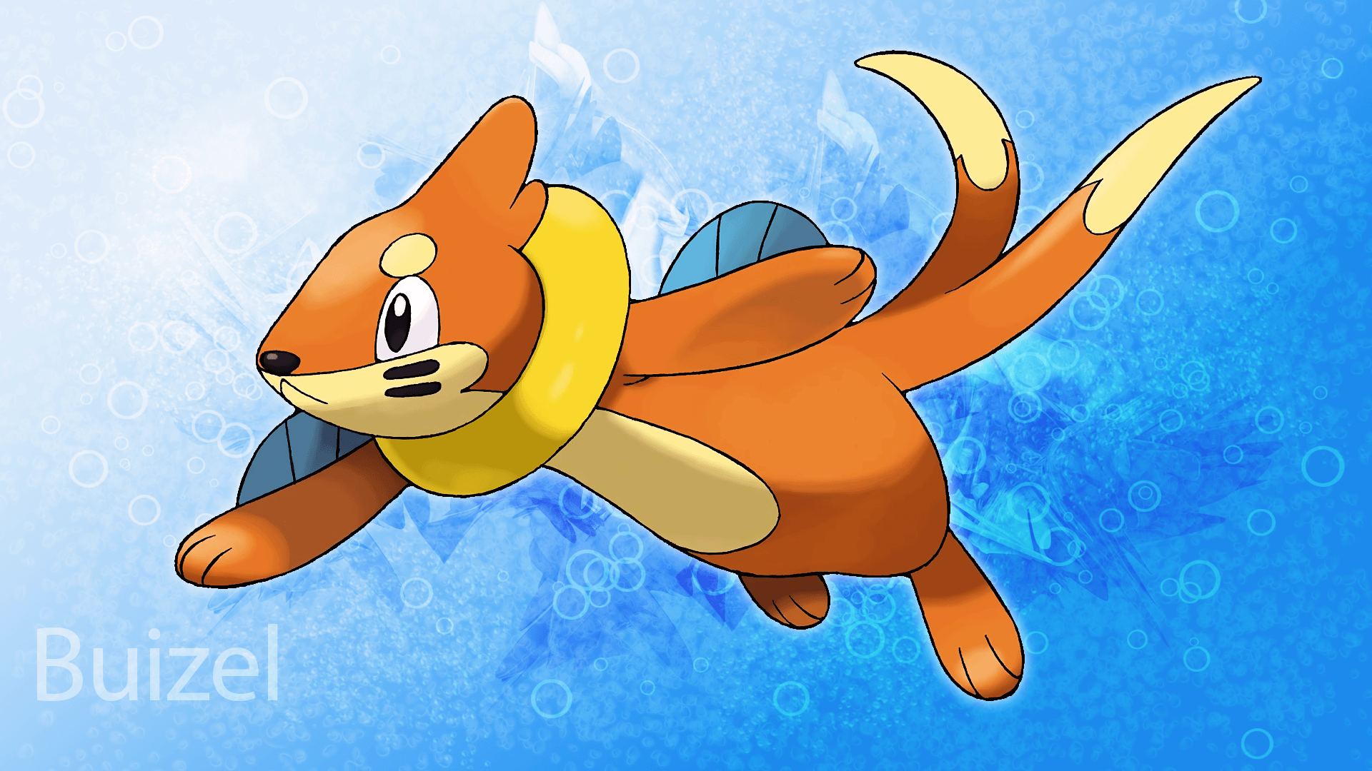 Buizel Desktop Background V2 by KirkButler on DeviantArt