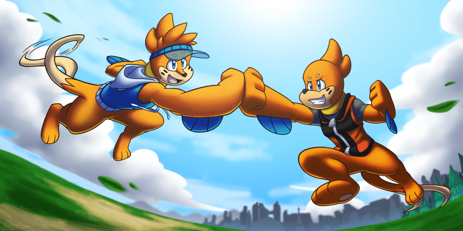 Buizel Bro Fist! by BuizelCream on DeviantArt