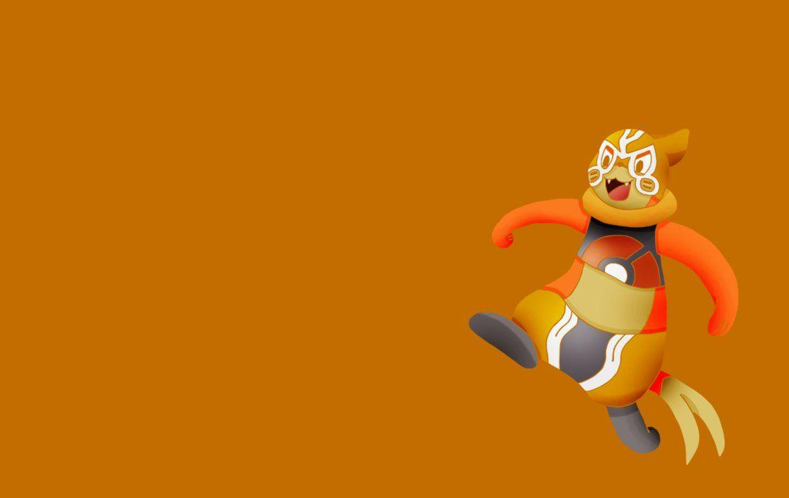 Lucha Libre Cosplay Buizel Wallpaper!! by PoKeMoN