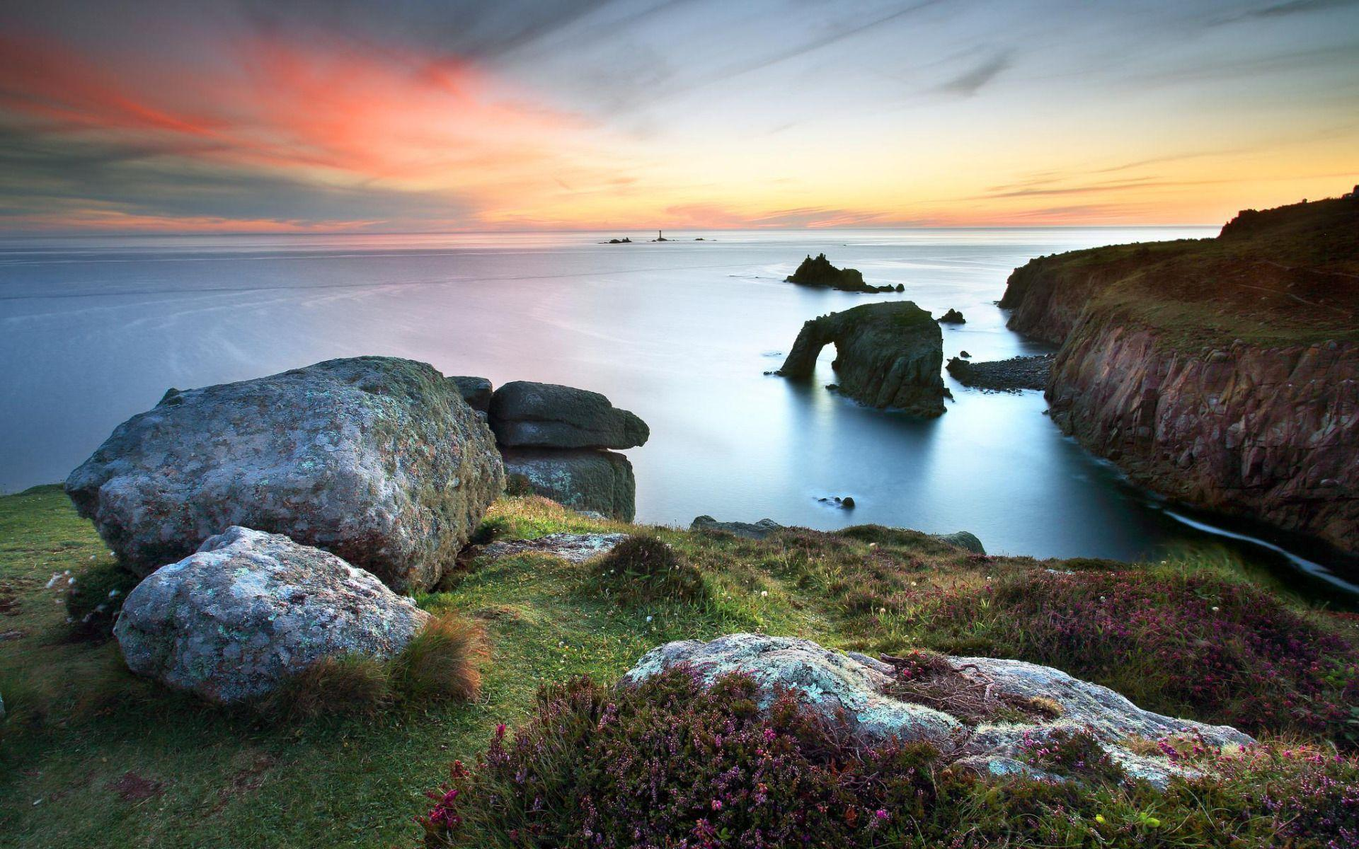 Lands End, Cornwall widescreen wallpapers