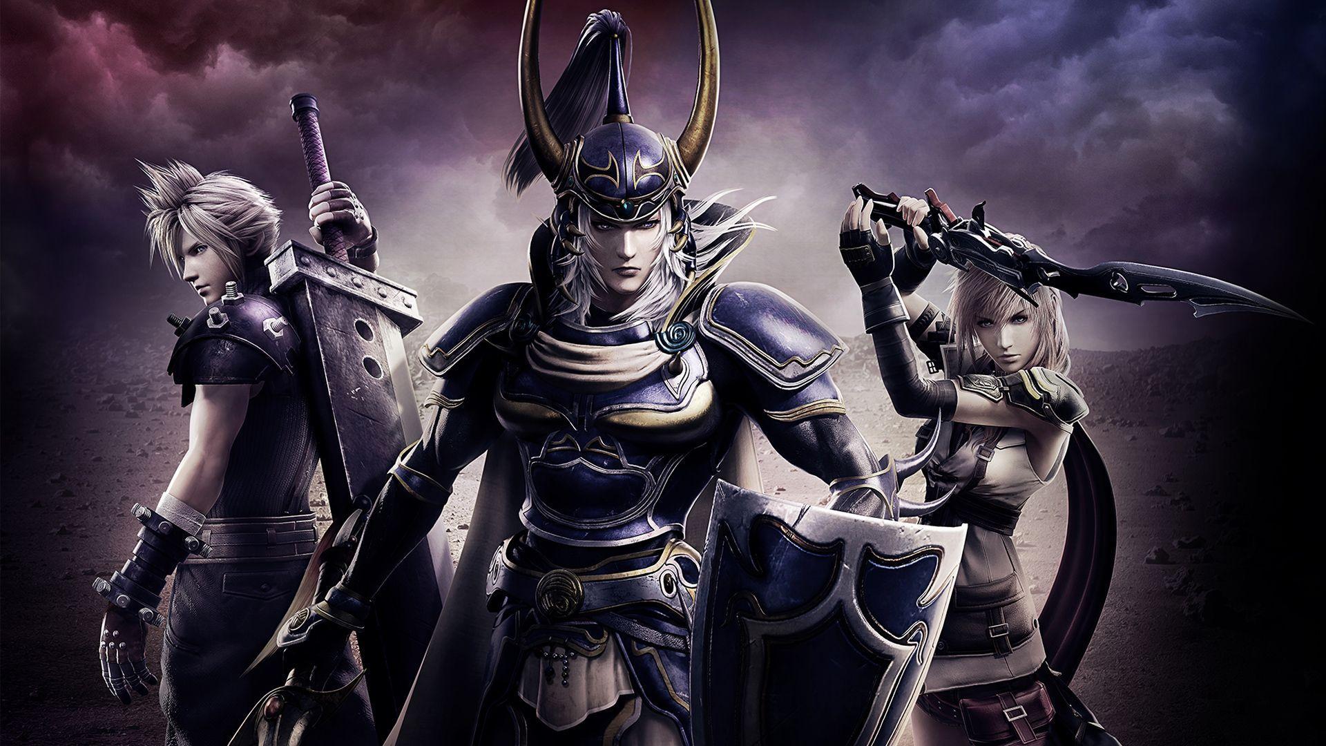 Dissidia Final Fantasy Nt Wallpapers Wallpaper Cave