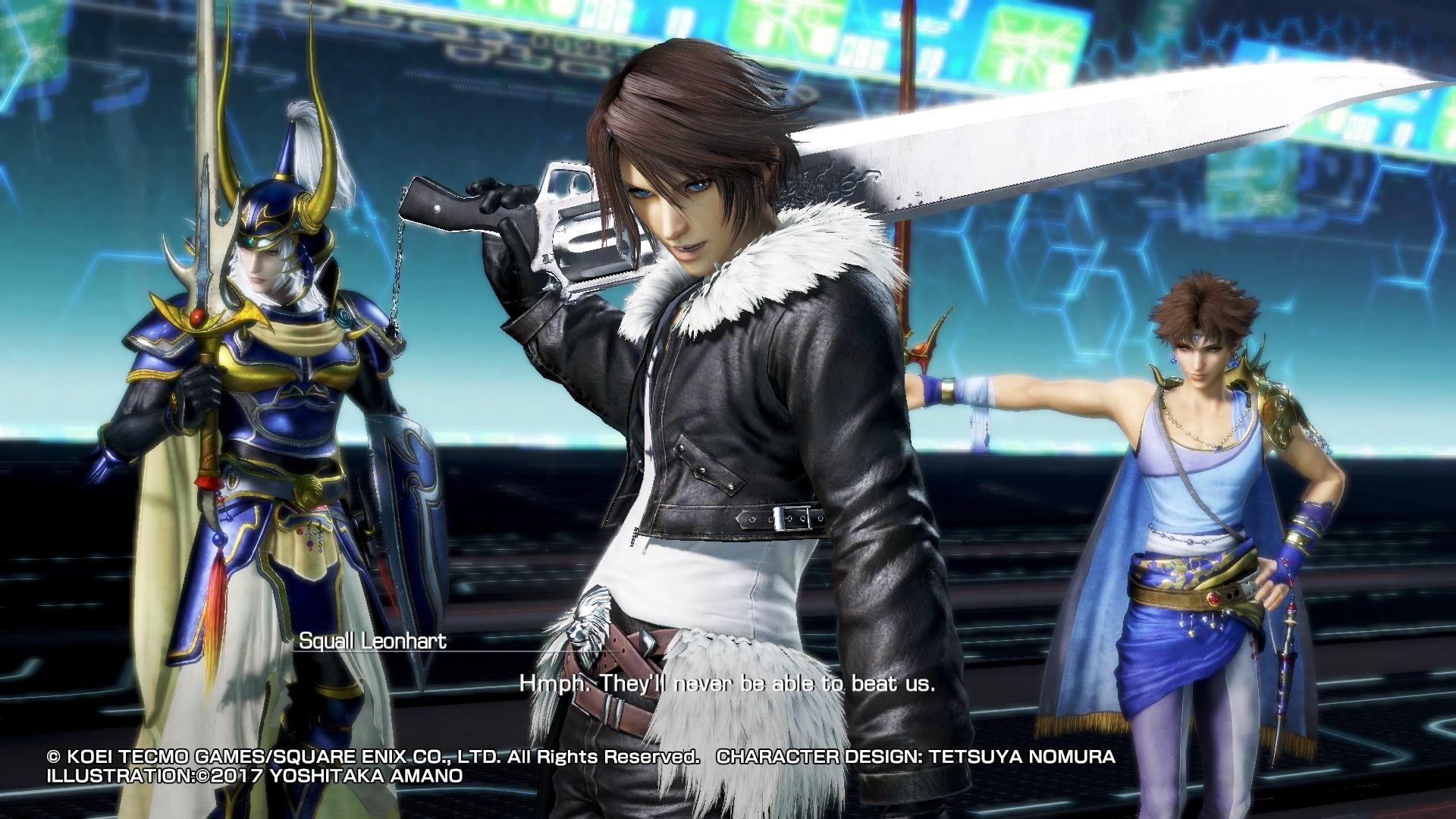 Dissidia Final Fantasy NT review - fan-service fighter is