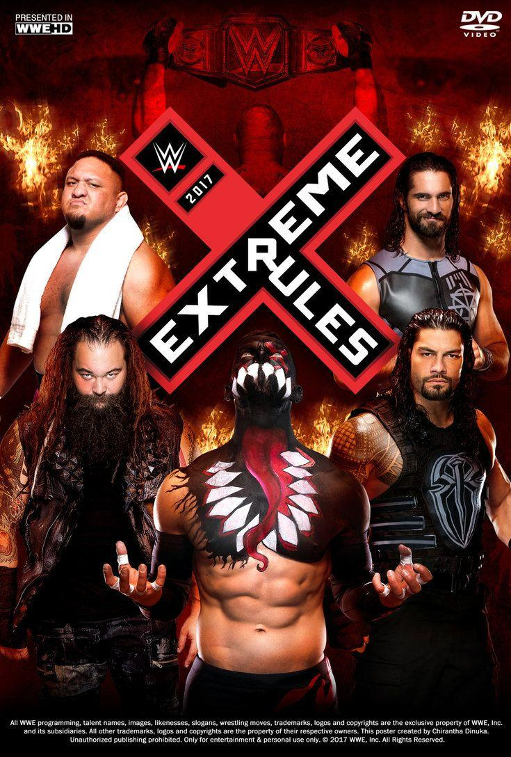WWE Extreme Rules 2018 Wallpapers - Wallpaper Cave