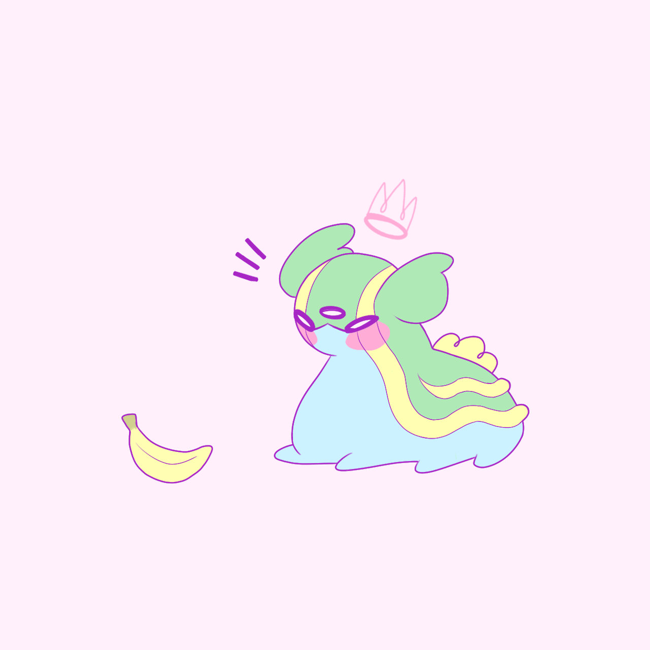 Serene Grace — Gastrodon no like the banana