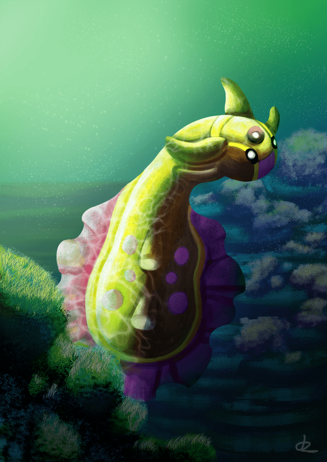 Creature Under the Sea by LadyTomatoes.deviantart.com on @DeviantArt ...