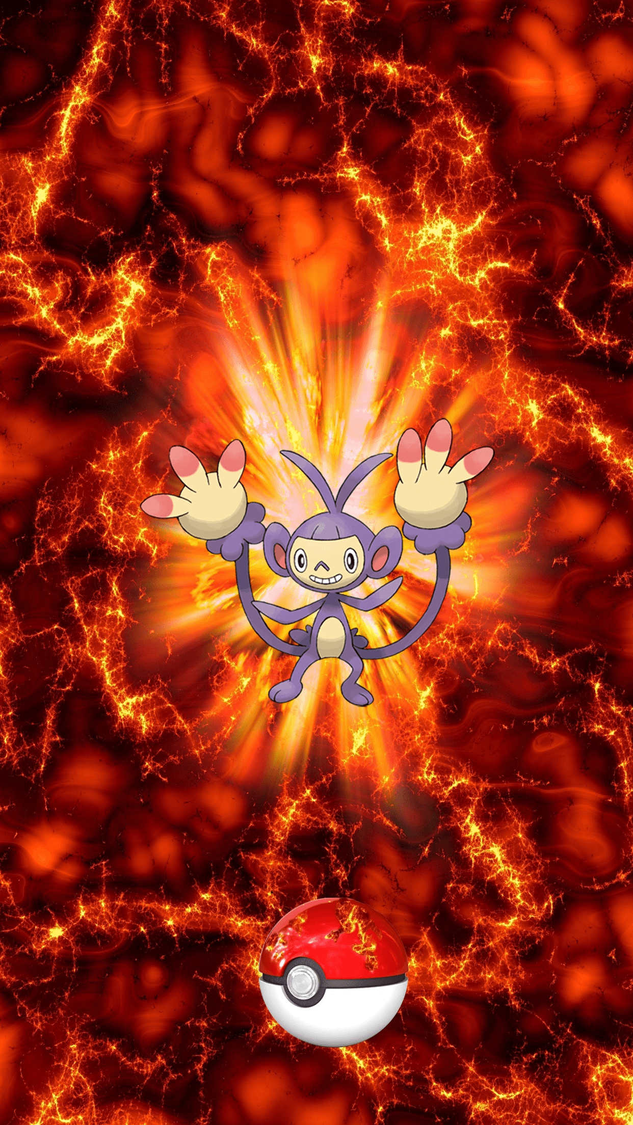 Mobile Ambipom Wallpapers