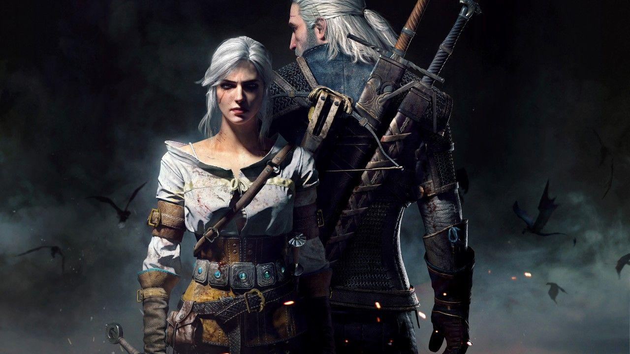 Geralt And Ciri The Witcher 4k Wallpapers Wallpaper Cave