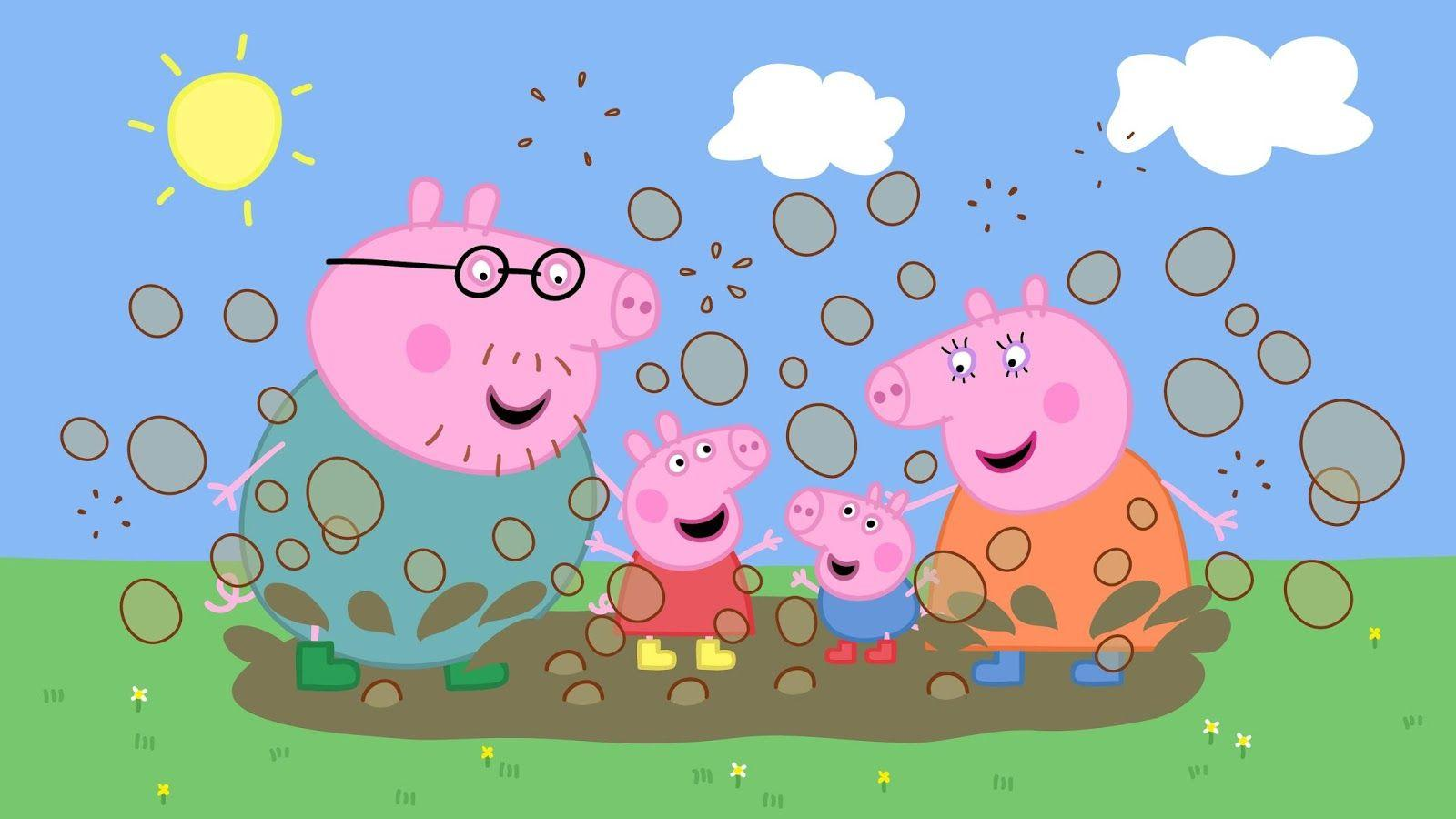 Peppa Pig Family Wallpapers Wallpaper Cave