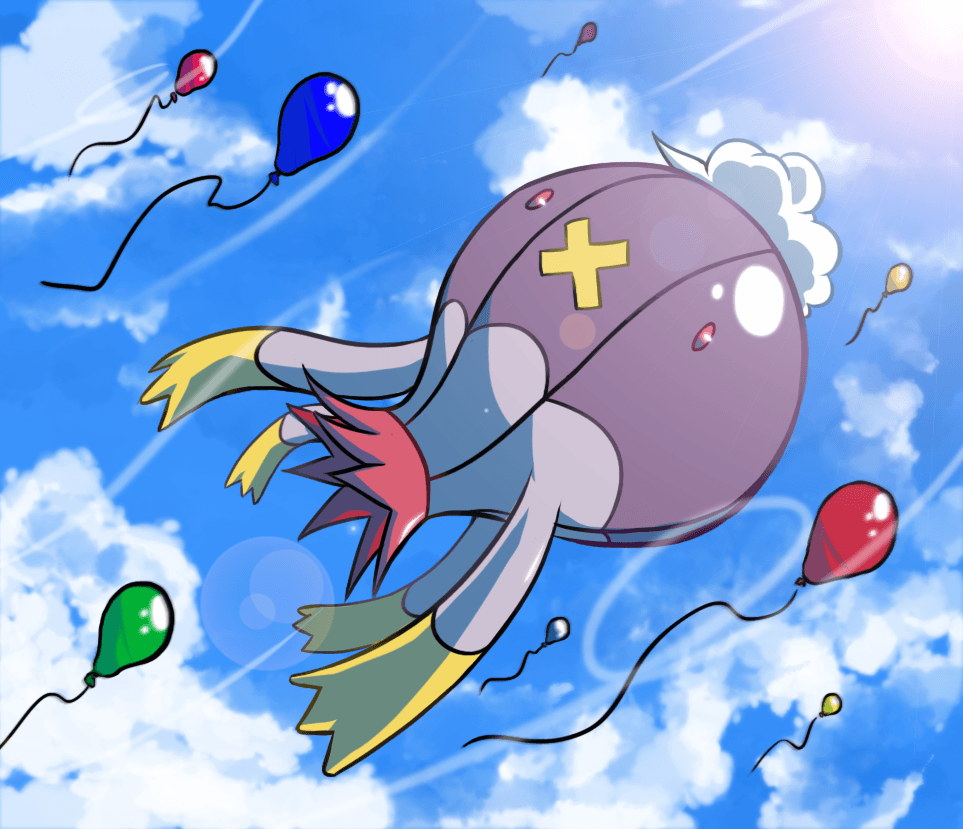 Gotta' Draw 'em All - Drifblim by Jutopa on DeviantArt