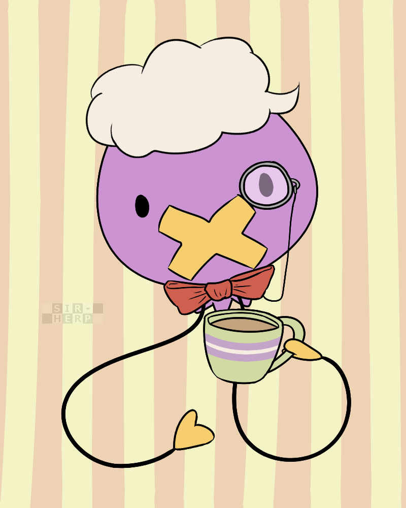 A Dapper Drifloon by SuperSarcosmic