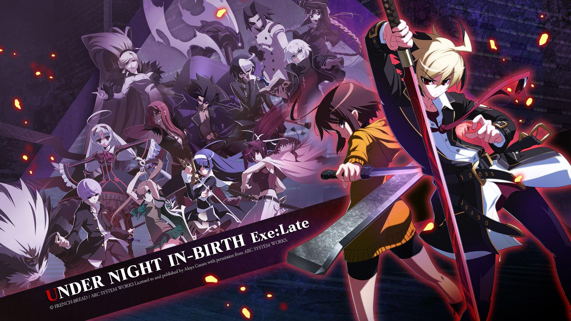Under Night In Birth Wallpapers Wallpaper Cave