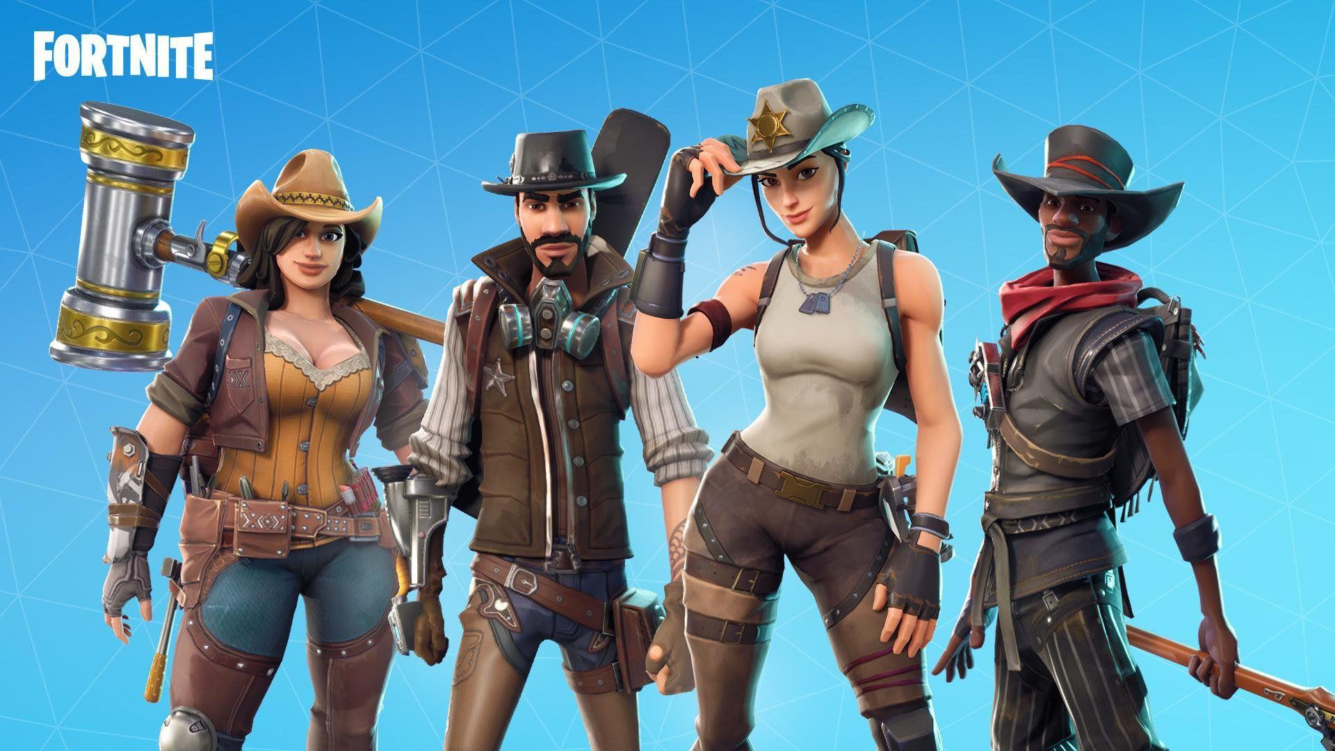 Wild West Heroes Road Trip Event Fortnite Season 5 Wallpaper For .