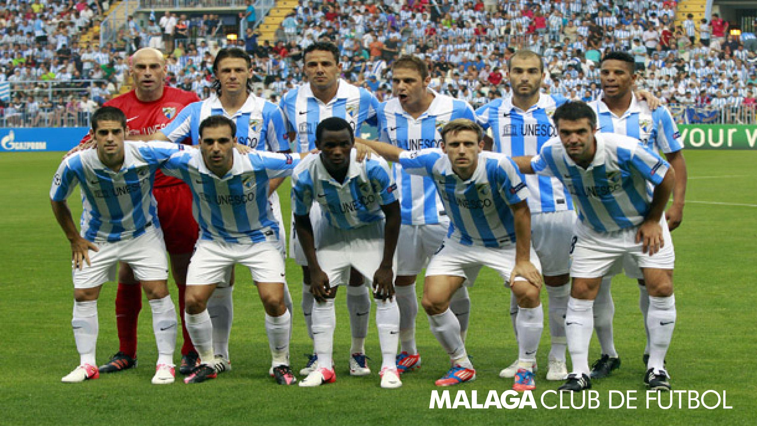 Malaga Fc Squad Wallpapers HD 2014