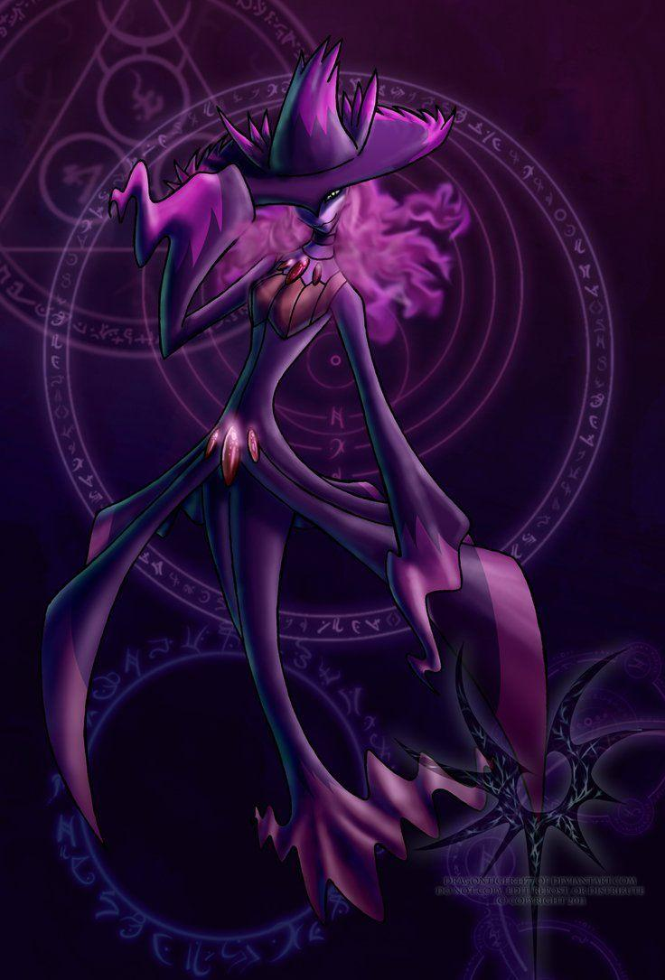 Anthro Mismagius by Aniseth