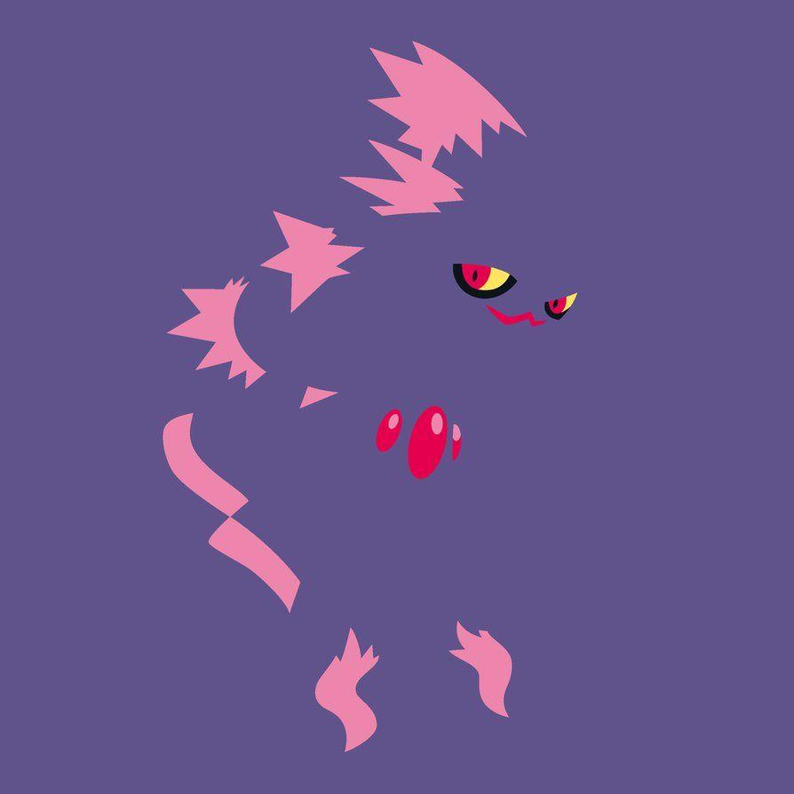Minimalist Pokemon: Mismagius by TourniquetMuffin