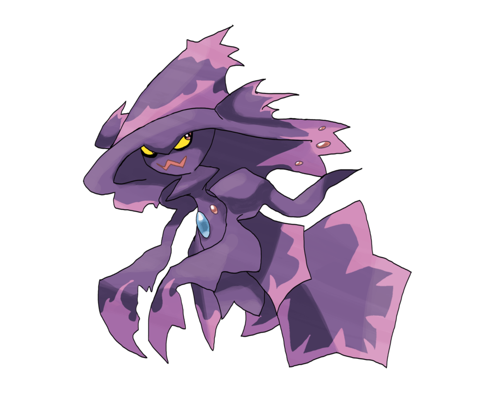 Mega Mismagius by locomotive111