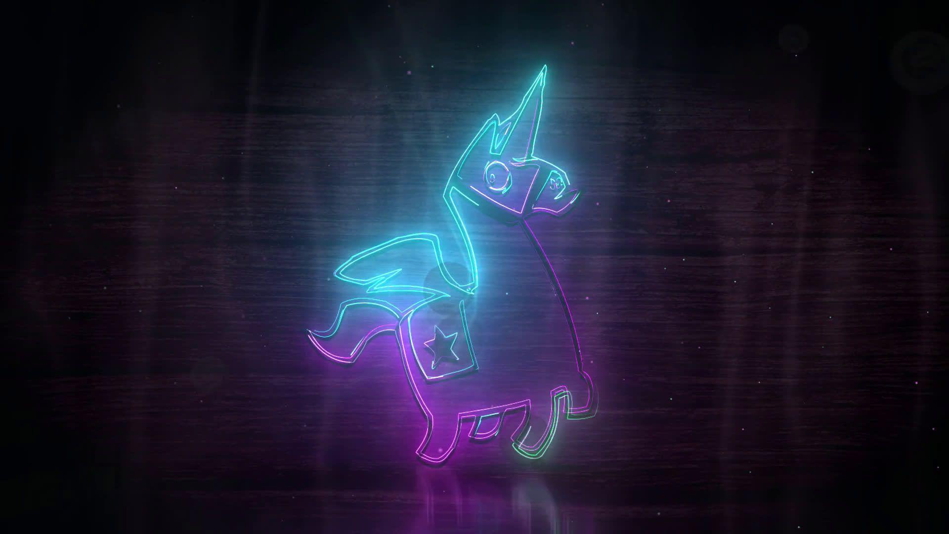 fortnite llama live wallpaper free desktophut - fortnite loot llama background