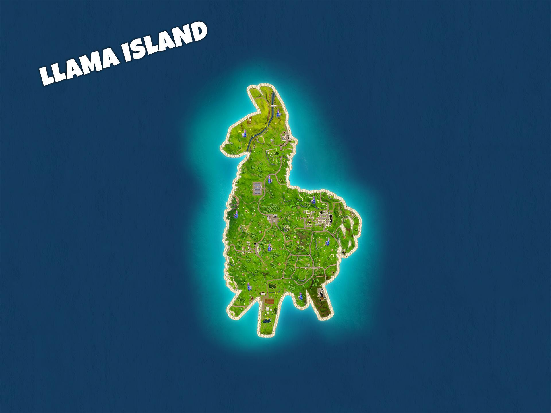 Fortnite Llama Wallpapers Wallpaper Cave